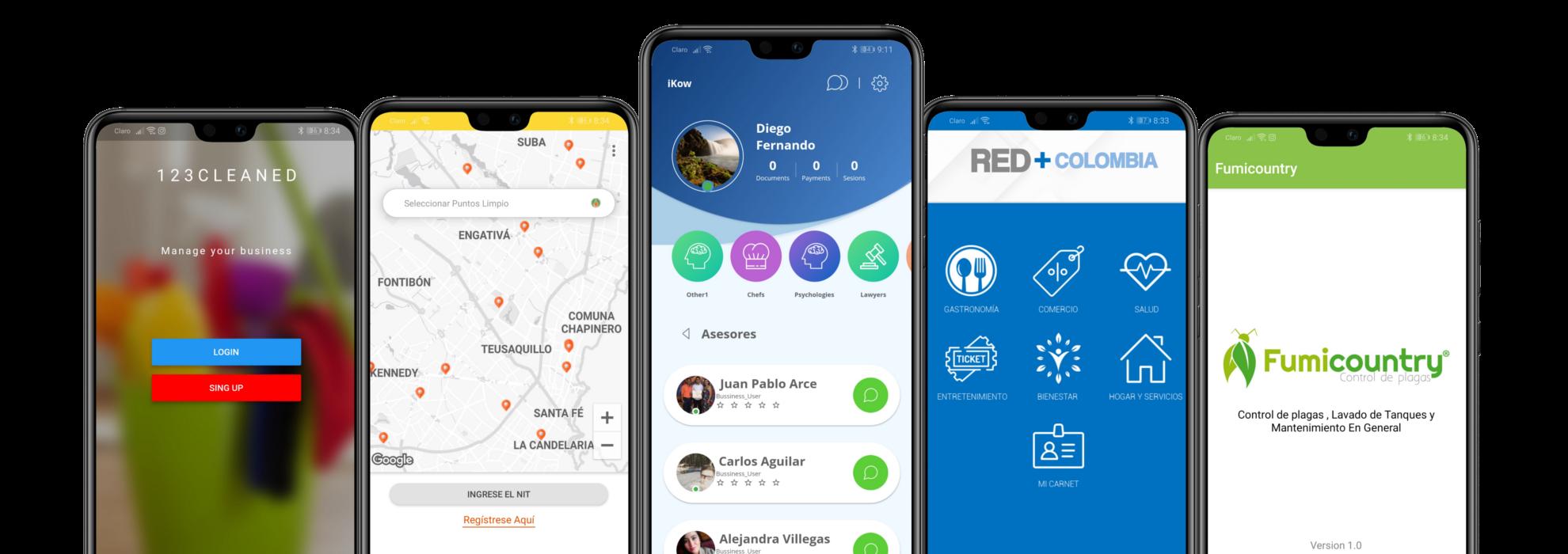 desarrollo de apps móvil